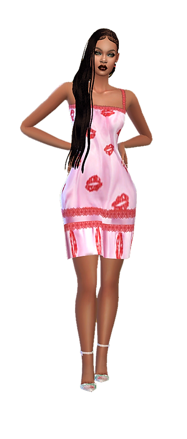 Kiss night gown pk.png