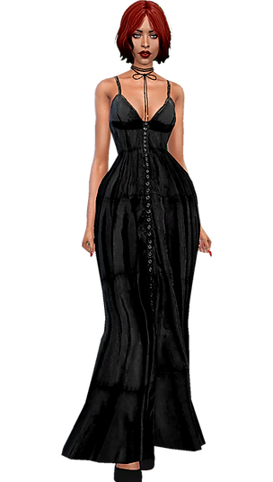 Long summer dress blk.png