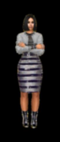 knee length skirt 2.png