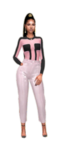 Stripe body top pink black.png