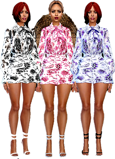 short bow dresses 01.png
