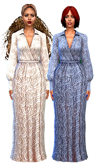Long puff arm gowns.png