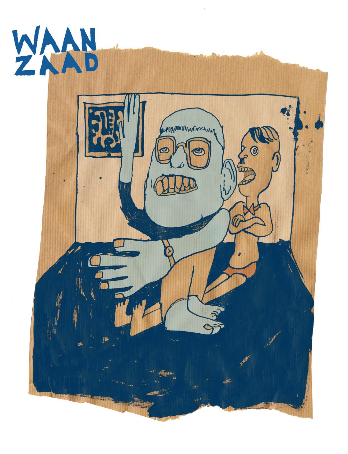 'Waanzaad', cartoons zonder clue