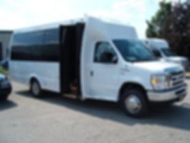 16 passenger Limo bus