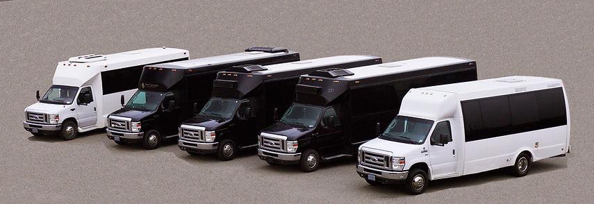 Arrow Limousine Party bus fleet