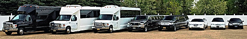 Red deer Limousine service with a Party bus