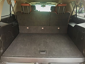 cadillac escalade luggage space