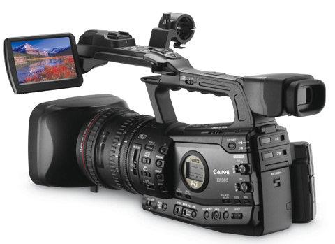 Canon XF 305 Cameras