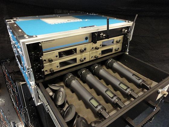 Sennheiser Radio Mic 4 Pack