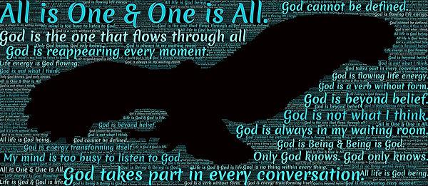 God is one.jpg