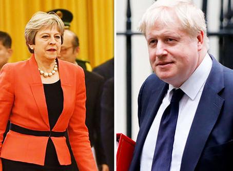 En forudsigelse: Brexit, Theresa May, Boris Johnson og fremtiden.