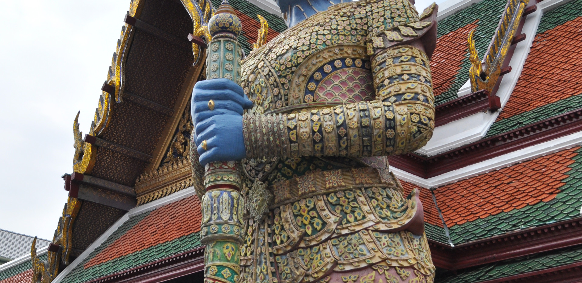 Figur ved Grand Palace