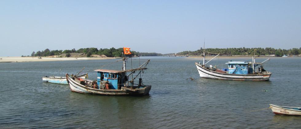 Fiskebåde Goa