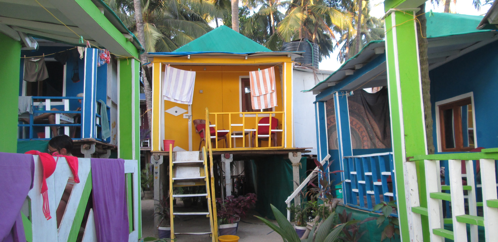 Min hytte Palolem Beach