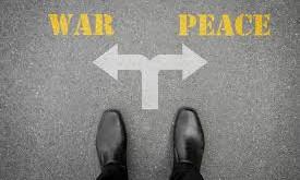 En forudsigelse: Krig eller fred...