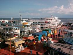 Manaus boat.