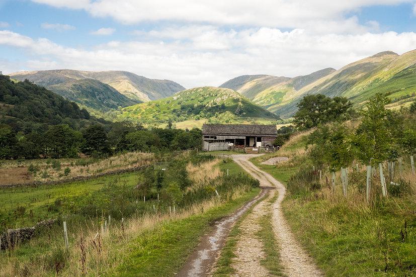 Premium Art Print    Cumbrian Landscape Scene    Yorkshire Photo Restoration
