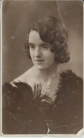 Damaged Old Photo