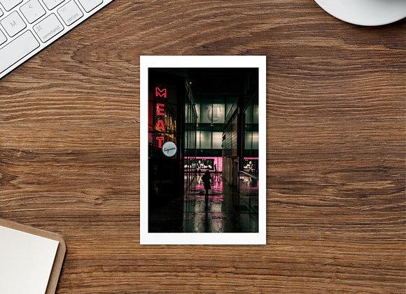 Meat - Standard Postcard