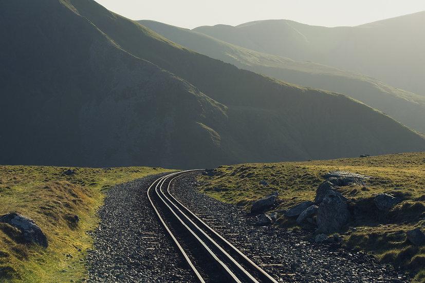 Premium Quality Art Print | Snowdon Railway | Yorkshire Photo Restoration