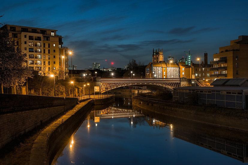 Premium Quality Art Print |  Crown Point Bridge  | Yorkshire Photo Restoration