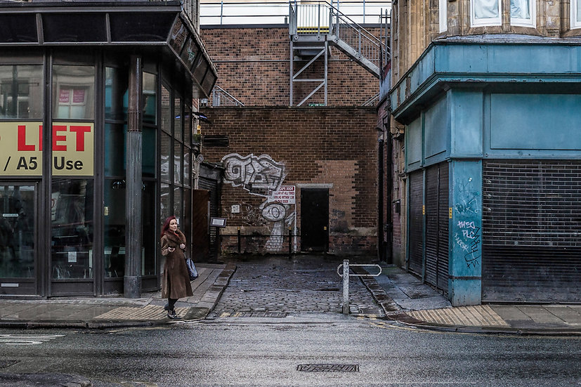 Premium Quality Art Print |  Leeds City Centre  | Yorkshire Photo Restoration