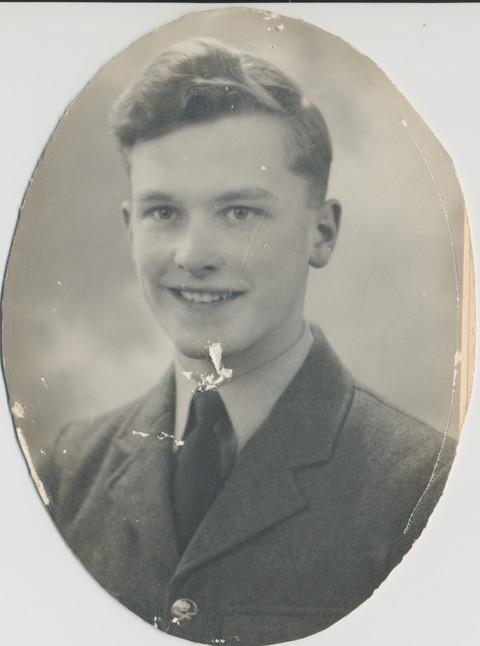 Faded damaged photo