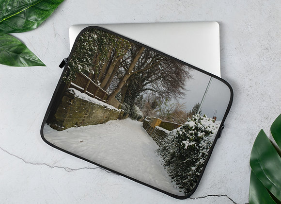 Snow Alley - Laptop Sleeve