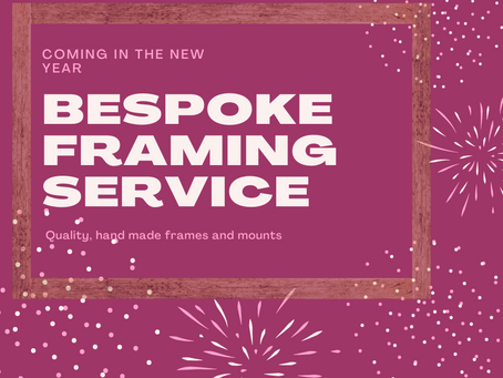 Framing service coming soon