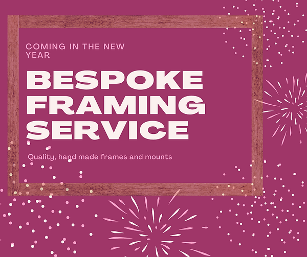 Bespoke Framing service
