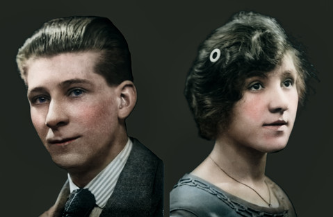 Restored and Colourised