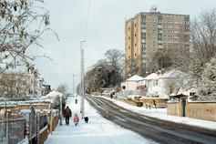 Snow, Chapel Allerton - Leeds
