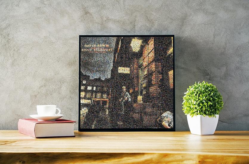 Inch Ziggy Mosaic Print | David Bowie | Art Prints
