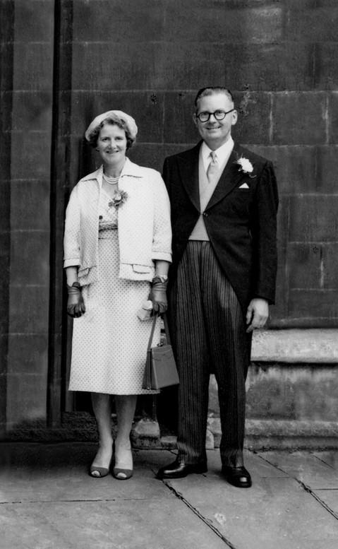 Restored Wedding Photo