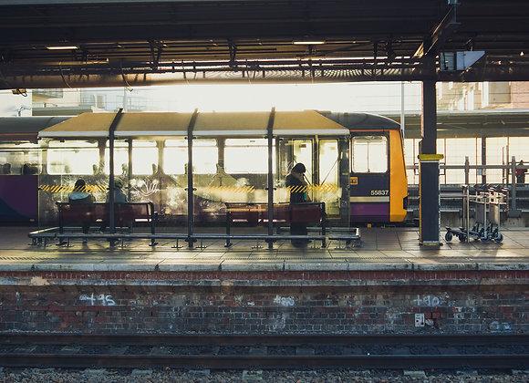 Leeds Train Station, Leeds, Wall Art, Print, Art Print