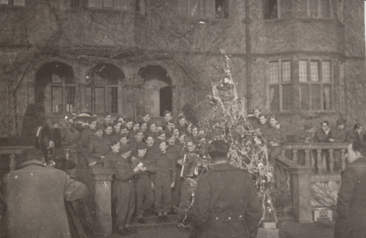 A Faded Xmas Wartime photo
