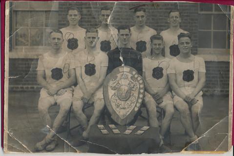 Faded Damaged Old Photo