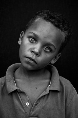 Amazing Portrait in Black And White