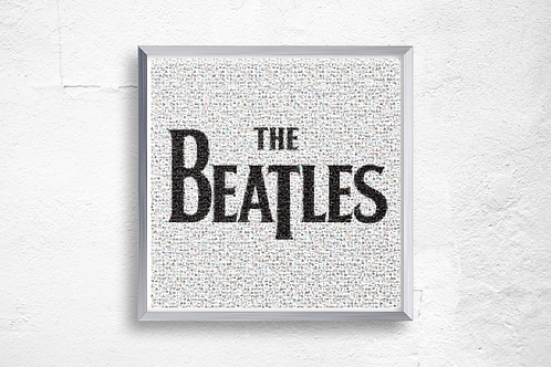 Premium Quality Art Print | The Beatles Mosaic | Yorkshire Photo Restoration