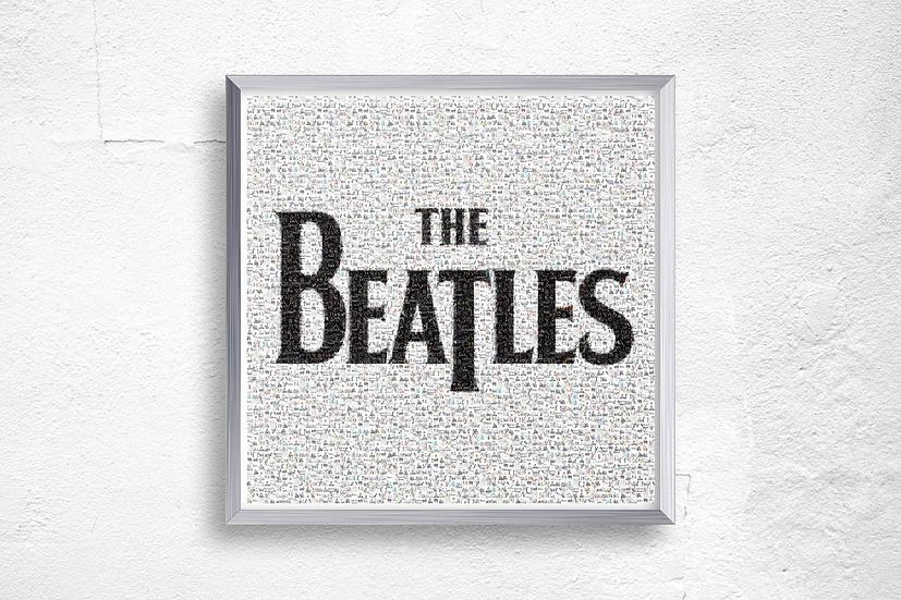 Premium Quality Art Print | The Beatles Mosaic | Yorkshire Photo Restoration
