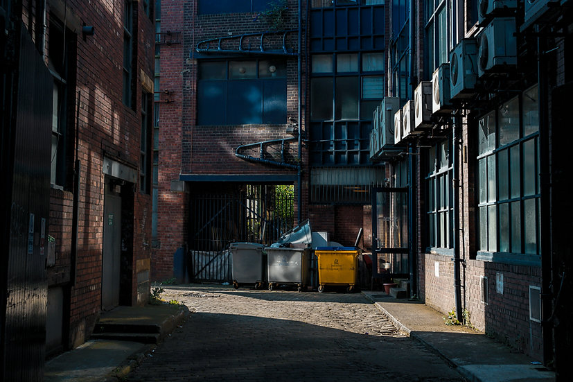 Premium Quality Art Print |  Alley - Leeds  | Yorkshire Photo Restoration