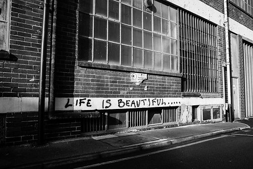 Premium Quality Art Print |  Life is Beautiful  | Yorkshire Photo Restoration