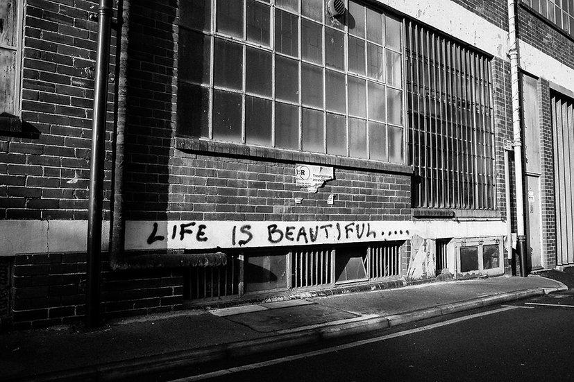 Premium Quality Art Print |  Life is Beautiful  | Yorkshire Photo Restoration