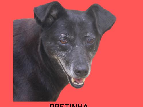 Pretinha-sandra