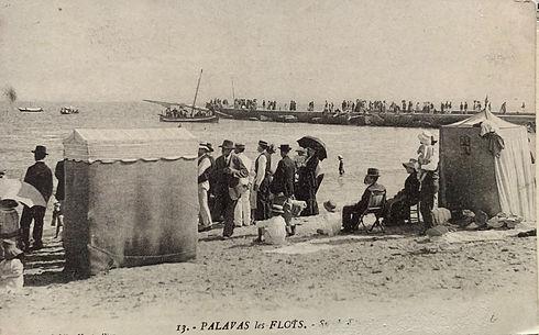 Plage Palavas les Bains rive gauche