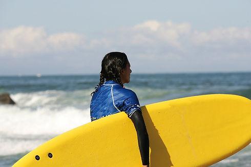 Surf à Palavas les flots