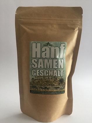 Hanfsamen geschält (250 g)
