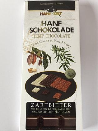 Hanf Schokolade Zartbitter (100g)