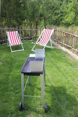 Et au barbecue....