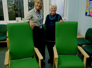 FRIENDS FUND HIGHER CHAIRS FOR PHARMACY